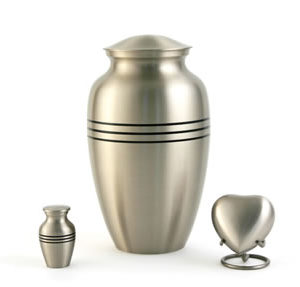 Classic pewter Urn