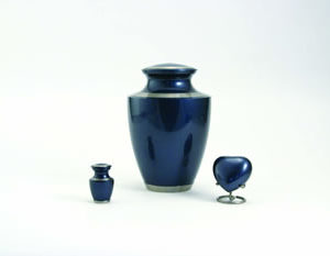 Moonlight Blue Urn