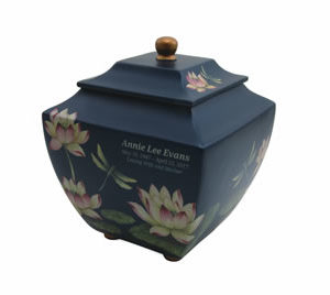 Water Lily Urn