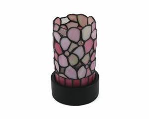 Pink Floral Lamp