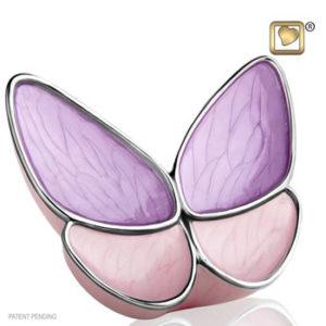 Lavender wings urn