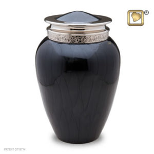 large blessings midnight urn