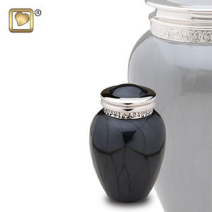 Blessings midnight urn keepsake
