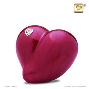 Medium loveheart urn