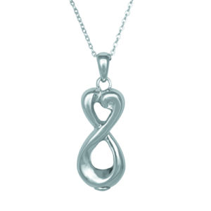 Infinite Love Ash Pendant (chain included) (O)