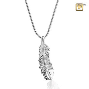 Feather Ash Pendant