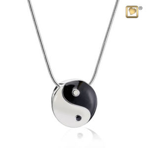 Yin Yang Ash Pendant
