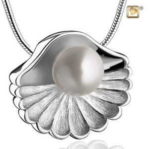 Sea Shell Ash Pendant Silver