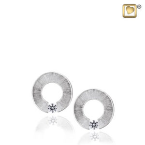 Omega (Silver) Earring